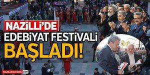 Nazilli'de Edebiyat Festivali Başladı!