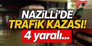 Nazilli'de Trafik Kazası!