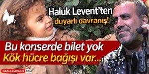 Haluk Levet'ten Duyarlı Davranış!