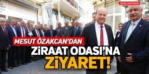 Mesut Özakcan'dan Ziraat Odası'na ziyaret!
