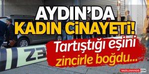 Aydın'da Kadın Cinayeti!