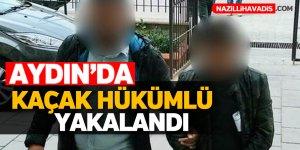 Aydın'da kaçak hükümlü yakalandı
