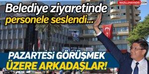 Özcan,Nazilli Belediyesini Ziyaret Etti!
