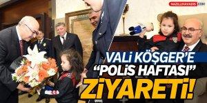 """Vali Köşger'e """"Polis Haftası"""" Ziyareti!"""
