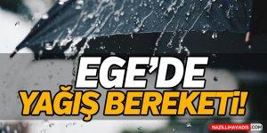 Ege'de Yağış Bereketi!