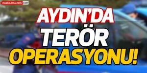 Aydın'da terör operasyonu
