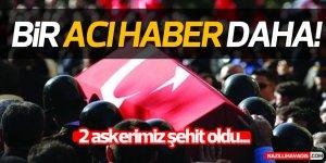 Şırnak'ta 2 asker şehit oldu!