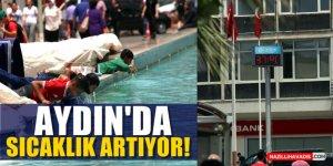 Aydın'da Sıcaklık Artıyor!