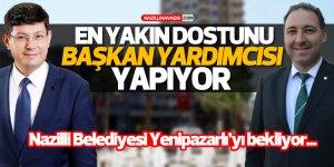 Nazilli Belediyesi Yenipazarlı'yı bekliyor!