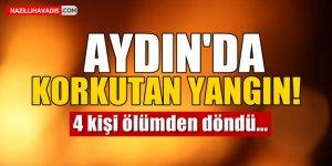 Aydın'da Korkutan Yangın!