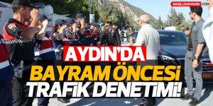 Aydın'da trafik denetimi!