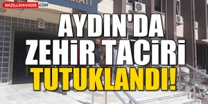 Aydın'da zehir taciri tutuklandı