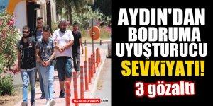 Aydın'dan Bodrum'a uyuşturucu sevkiyatı!