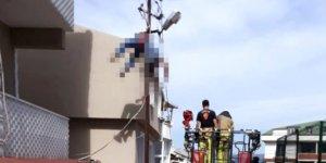 Vinçteki elektrik akımına kapıldığı iddia edilen kişi öldü!
