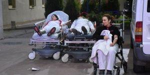 Amonyak gazından zehirlenen 25 işçi hastaneye kaldırıldı!