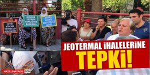 Aydın'daki jeotermal ihalelerine tepki