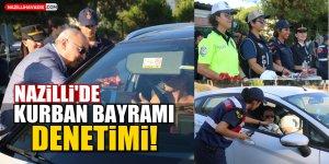 Nazilli'de Kurban Bayramı Denetimi