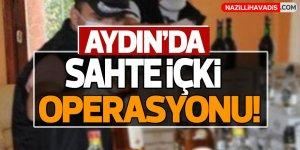 Aydın'da 225 litre sahte içki ele geçirildi