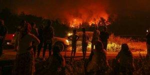 Tüm Türkiye'nin gözü kulağı orada! İzmir'de orman yangını....