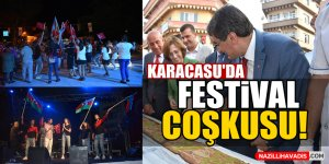 Karacasu'da festival coşkusu