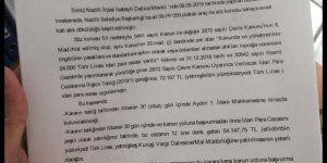 İlçe belediyesi 72 bin lira ceza yedi