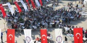 Nazilli'de Atatürk için keşkek hayrı düzenlendi