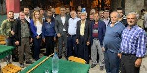 Kırsal mahallelerden Şensan'a tam destek