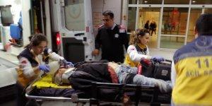 Asansör boşluğuna düşen adam ağır yaralandı