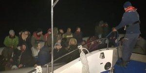 Aydın'da 46 düzensiz göçmen yakalandı...