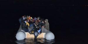 Aydın'da 64 düzensiz göçmen yakalandı