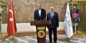 Milli Eğitim Bakanı Selçuk Aydın'da