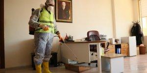 Büyükşehir Belediyesi salgın hastalıklara karşı önlem alıyor