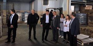 Başkan Özcan Nazlı Su Tesisleri'ni ziyaret etti