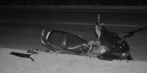 Aydın'da devrilen motosikletin sürücüsü öldü
