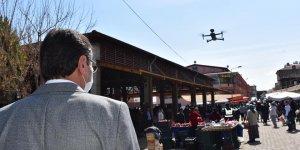 TÜRKİYE'DE DRONE İLE ATEŞ ÖLÇÜMÜ İLK KEZ KARACASU'DA GERÇEKLEŞTİRİLDİ