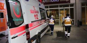 Kuyucak'ta kaza...2 polis memuru yaralandı