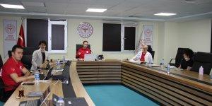 İl Sağlık Müdürü  Açıkgöz Hastane Başhekimleri İle Telekonferans Gerçekleştirdi