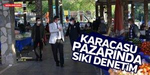 KARACASU PAZARINDA SIKI DENETİM