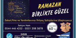 DİDİM ÜLKÜ OCAKLARI 750 PAKET YARDIM KOLİSİ HAZIRLADI