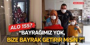 YENİPAZAR'DA ÇOCUKLARIN 23 NİSAN HAZIRLIKLARINI POLİS TAMAMLADI