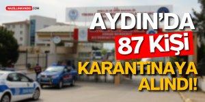 Malezya'dan Getirilen 87 Türk  Aydın'da Öğrenci Yurdunda Karantinaya Alındı