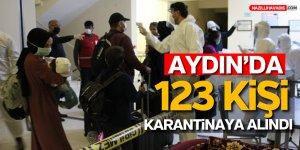 NİJERYA VE GANA'DAN GETİRİLEN 123 TÜRK VATANDAŞI AYDIN'DA KARANTİNAYA ALINDI