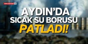 JEOTERMAL TESİSİNDE SICAK SU BORUSU PATLADI!