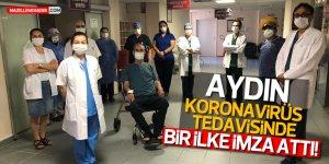 Aydın'da Kovid-19 Tedavisinde Bir İlk Yaşandı