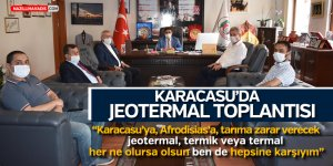 KARACASU'DA JEOTERMAL TOPLANTISI