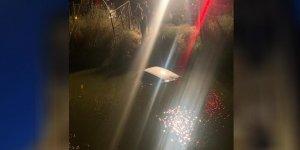 Aydın'da araç sulama kanalına uçtu