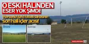 Horsunlu'daki Atıl Durumdaki Stadyum Onarım Bekliyor