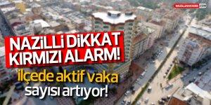 NAZİLLİ'DE VAKA SAYISI YÜKSELİYOR!