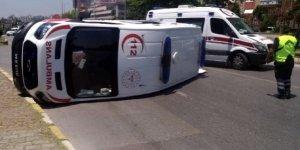 Aydın'da korkutan kaza! Ambulans ve otomobil çarpıştı : 6 yaralı