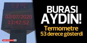 TERMOMETRE 53 DERECE GÖSTERDİ
